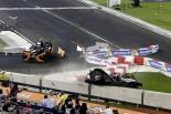 F1 | 【動画】ROC:ウェーレインが横転、大クラッシュ。駆け寄ったマッサ「怖かった」