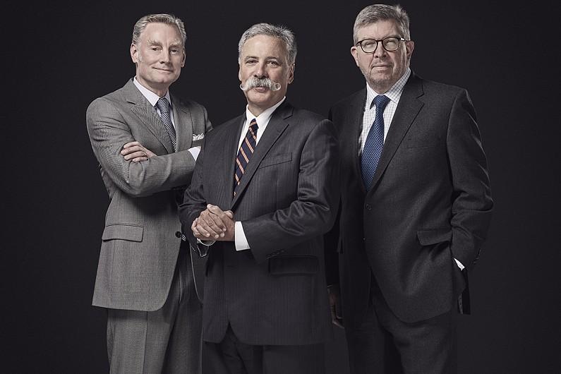 リバティ・メディアがチェイス・キャリー、ロス・ブラウン、ショーン・ブラッチスのF1新体制を発表