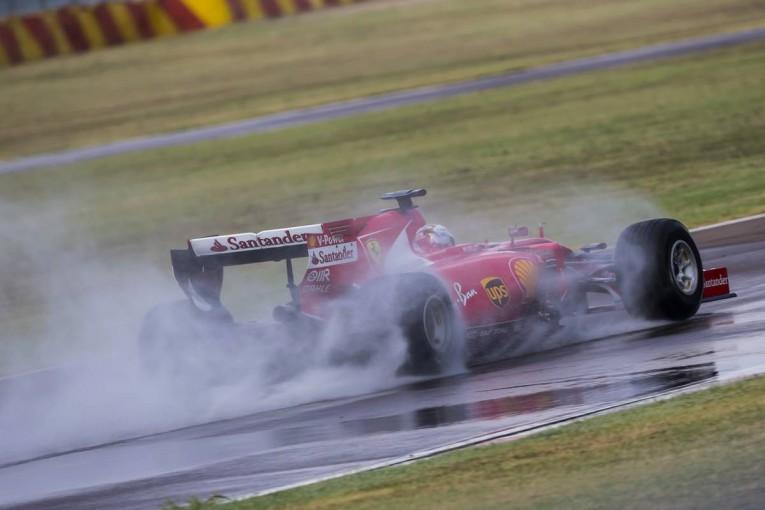 F1 | 雨天時のF1スタート方式変更に備え、ウエットタイヤのテストを全チームが実施へ