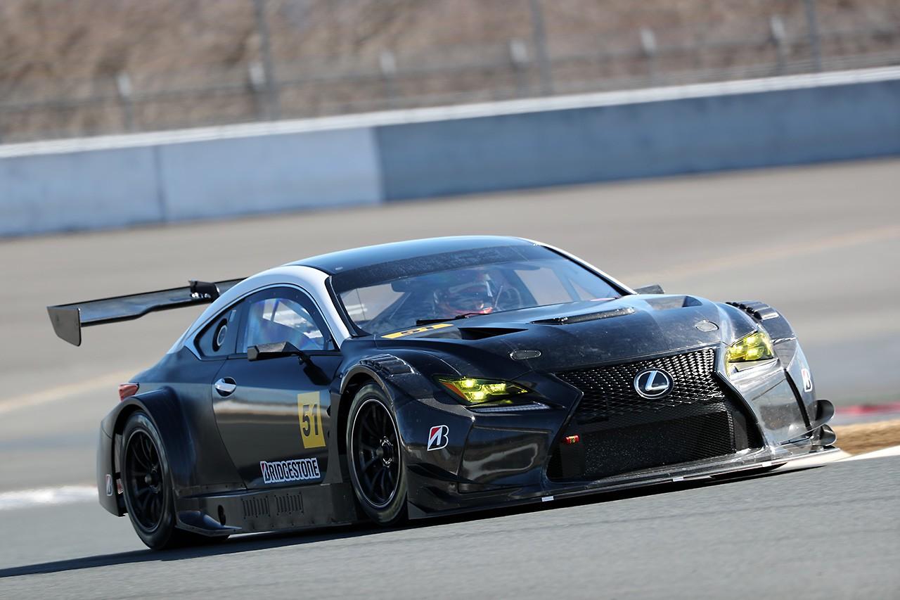 LM Corsaの51号車はレクサスRC F GT3か。中山+BSで走行開始