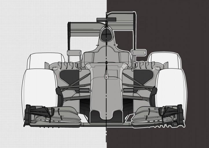 "F1 | ""過去20年で最大の変更""ワイド&ローとなる2017年F1新規定をおさらい"