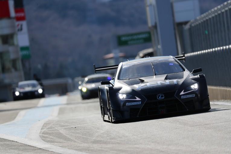 スーパーGT   SGT車両富士テスト:午後は1分28秒台前半へ。トラブルフリーで初日終える