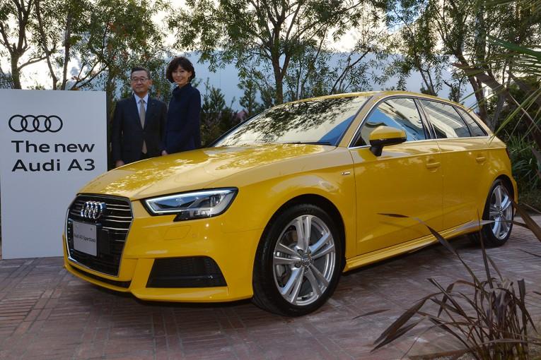 クルマ   アウディが商品改良された新A3/S3を発表。国内レース活動にも触れる