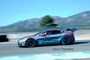 海外レース他 | 【動画】2.1秒で100km/hへ。電動GT選手権用マシン『EGTテスラV2.0』スペック