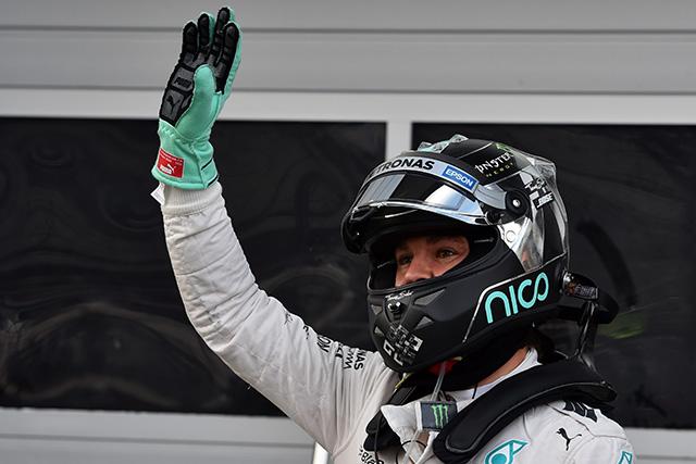 F1   ロズベルグが全セッション最速で2戦連続PP