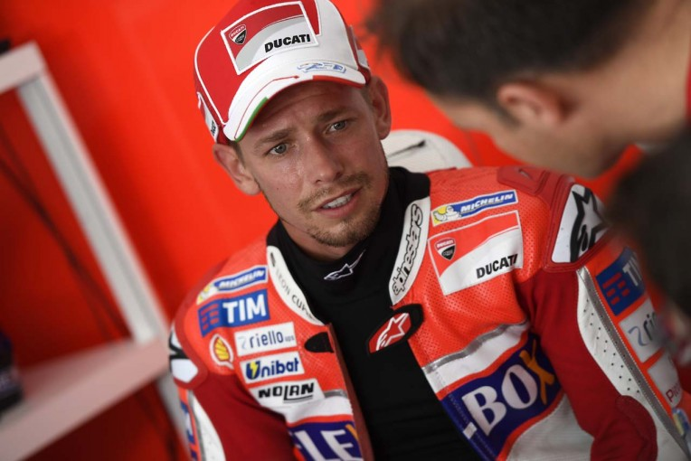 MotoGP | MotoGP:ストーナー「雨が降って残念」/ドゥカティ勢セパンテスト初日コメント