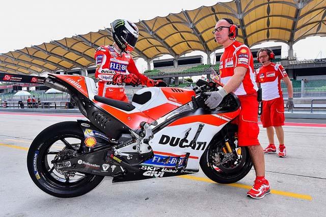 MotoGP   MotoGP:ロレンソ、セパンテスト初日のタイムに「失望はしていないが、驚いた」