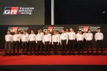 プレスカンファレンスには2017年にTOYOTA GAZOO Racingのもとで戦うドライバーたちが集結