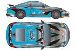 台湾のトップスピード・レーシングがエントリーするポルシェ・ケイマンGT4・クラブスポーツMR