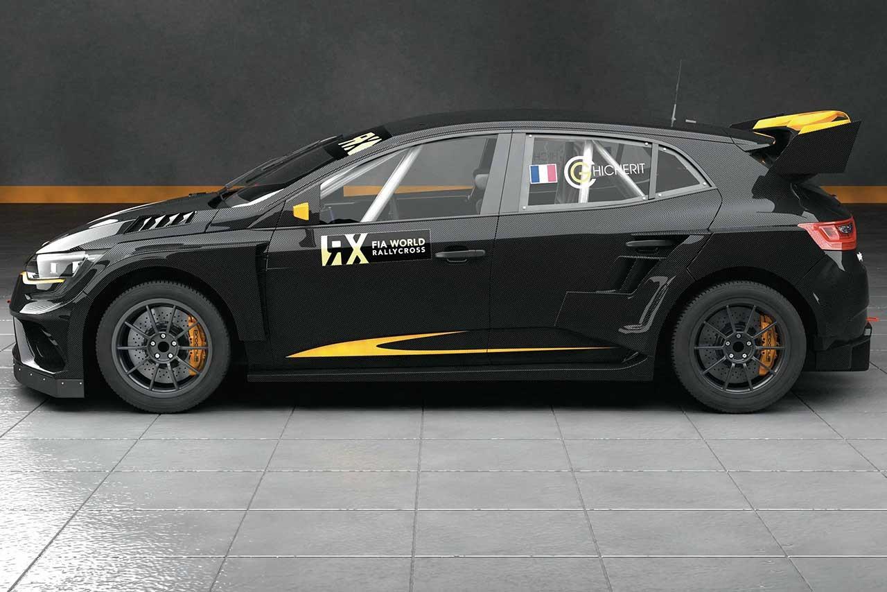 2018年の世界ラリークロスにルノー・メガーヌ参戦へ。プロドライブが製作