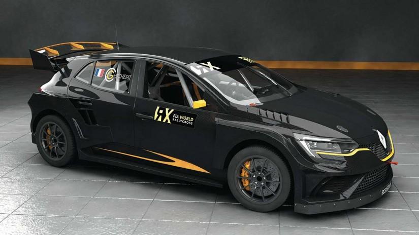 ラリー/WRC | 世界ラリークロス:プロドライブのメガーヌRX開発に遅れ。マシンお披露目は2018年に
