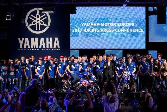 MotoGP | ヤマハ、SBKの体制を強化。欧州での2017年レース体制発表会を開催