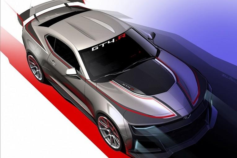 ル・マン/WEC | シボレー、GT4マシンの新モデル『カマロGT4.R』開発をアナウンス