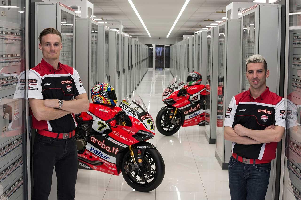 SBK:アルバ.it レーシング-ドゥカティが2017年体制発表