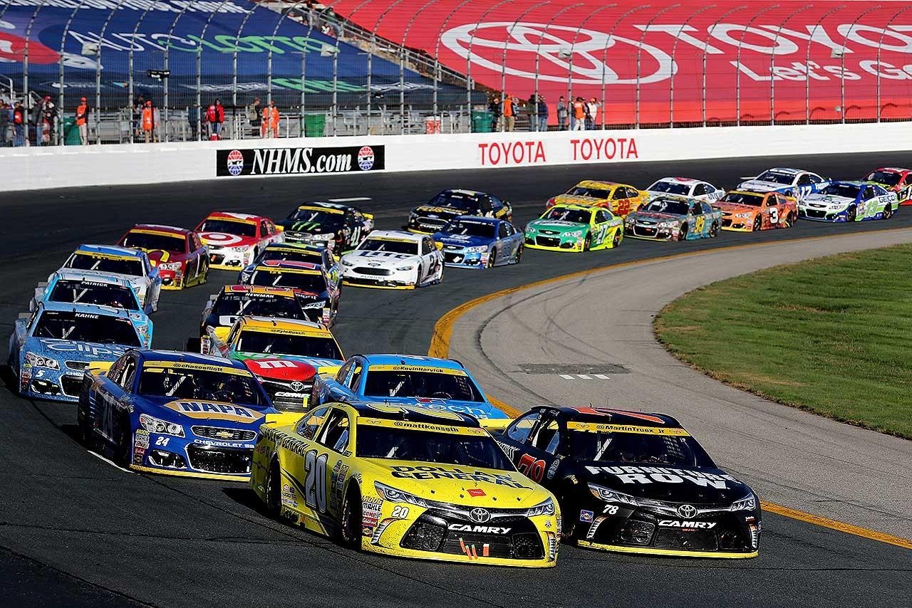 NASCAR:2017年からマシン修復の規則厳格化。レース中のボディパネル交換は不可能に