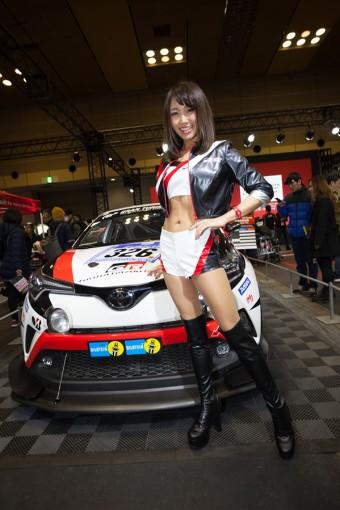 レースクイーン   高家望愛(TOYOTA GAZOO Racing)
