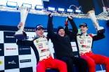 世界ラリー選手権第2戦スウェーデンを制したヤリ-マティ・ラトバラ(トヨタ・ヤリスWRC)