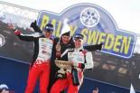世界ラリー選手権復帰2戦目で勝利したTOYOTA GAZOO Racing