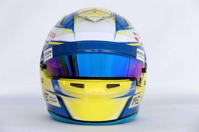 F1   マーカス・エリクソン(Marcus Ericsson) 2017年のヘルメット2