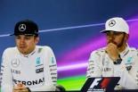 F1   F1世界チャンピオンのロズベルグ、ボッタスに「対ルイスの秘訣は教えない」