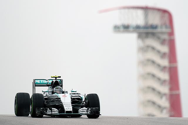 F1 | ウエットのFP1はニコが首位、新PUアロンソ9番手