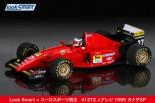 F1 | アレジ唯一のF1勝利マシン『フェラーリ412T2』1995年カナダGP仕様のモデルカー発売