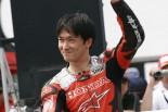 MotoGP | ホンダのレジェンドライダー宇川徹が鈴鹿ファン感に出演。デモランも参加