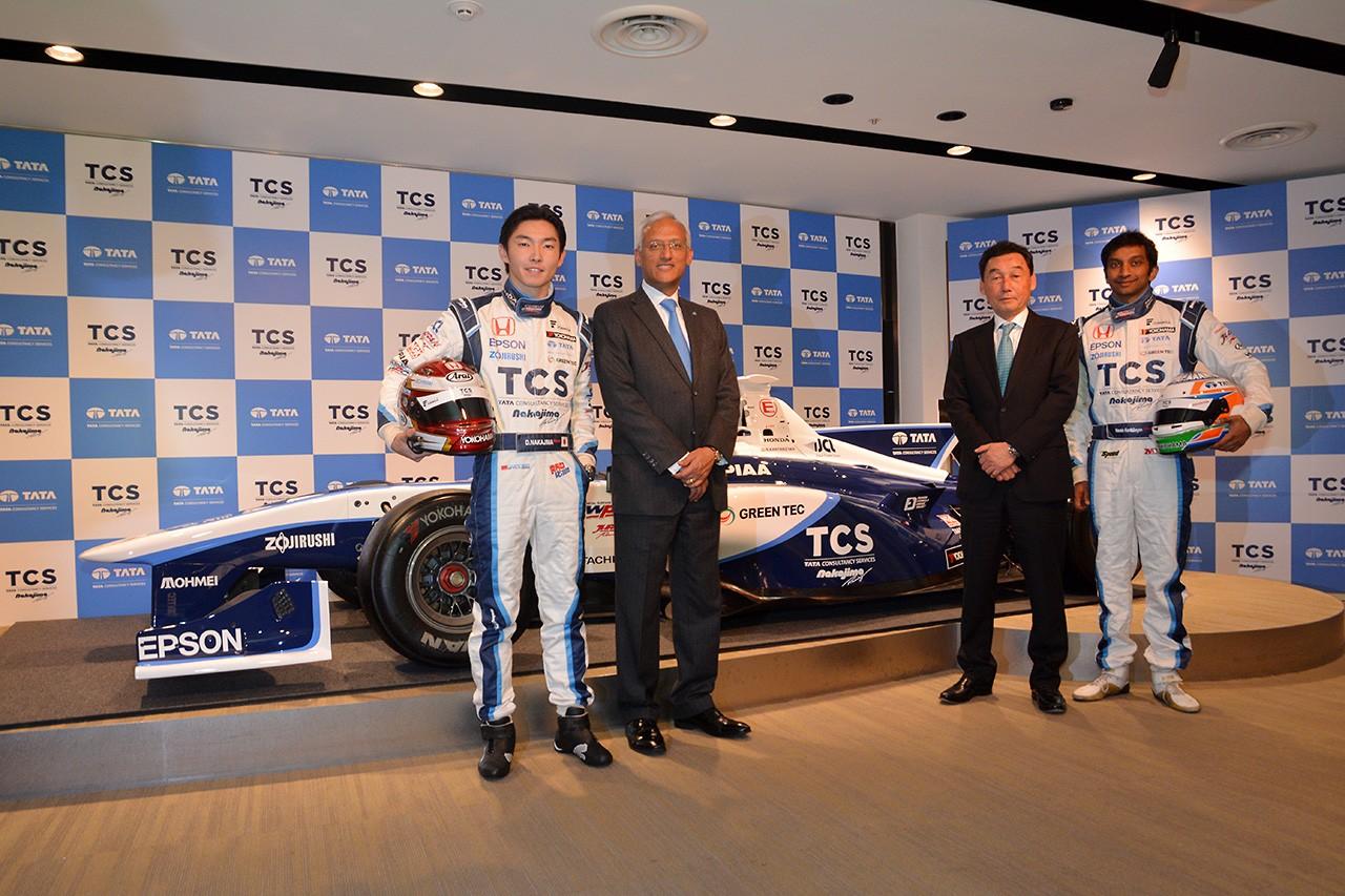 『TCS NAKAJIMA RACING』発進! 大祐&ナレインコンビで勝利を狙う