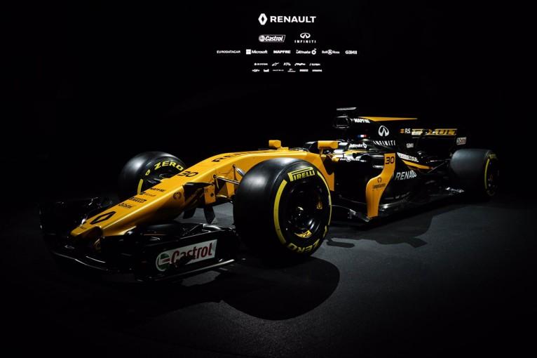 F1   ルノーF1、2017年型ニューマシン『R.S.17』をアンベイル