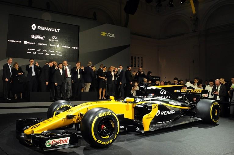 F1 | ルノーR.S.17:パーツをすべて変更、ゼロから作り直した「初のルノーF1マシン」で選手権5位を目指す