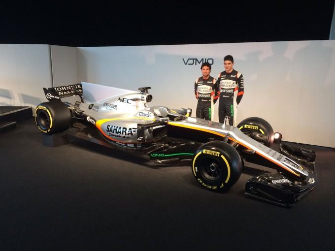 F1   フォース・インディアF1、ニューマシン『VJM10』を発表