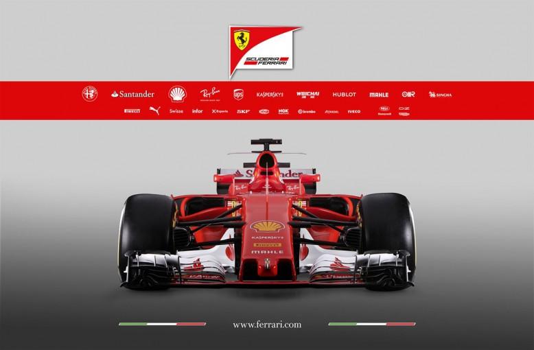 F1   フェラーリF1、2017年シーズンに投入するニューマシン『SF70H』を発表