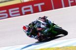 MotoGP | SBK開幕戦レース1:7台による大混戦をカワサキのレイが制す。3連覇へ向け好発進