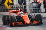 F1 | マクラーレン・ホンダF1にマシントラブル発生。テスト初日から厳しい状況に