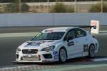 テストに参加予定のイタリア・トップラン製「スバルWRX STI TCR」