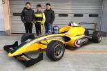 FIA-F4に挑む河野駿佑と福井宏尚監督、HubAutoのモーリス・チェン