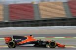 2017年第1回F1合同テスト2日目 ストフェル・バンドーン(マクラーレン・ホンダ)