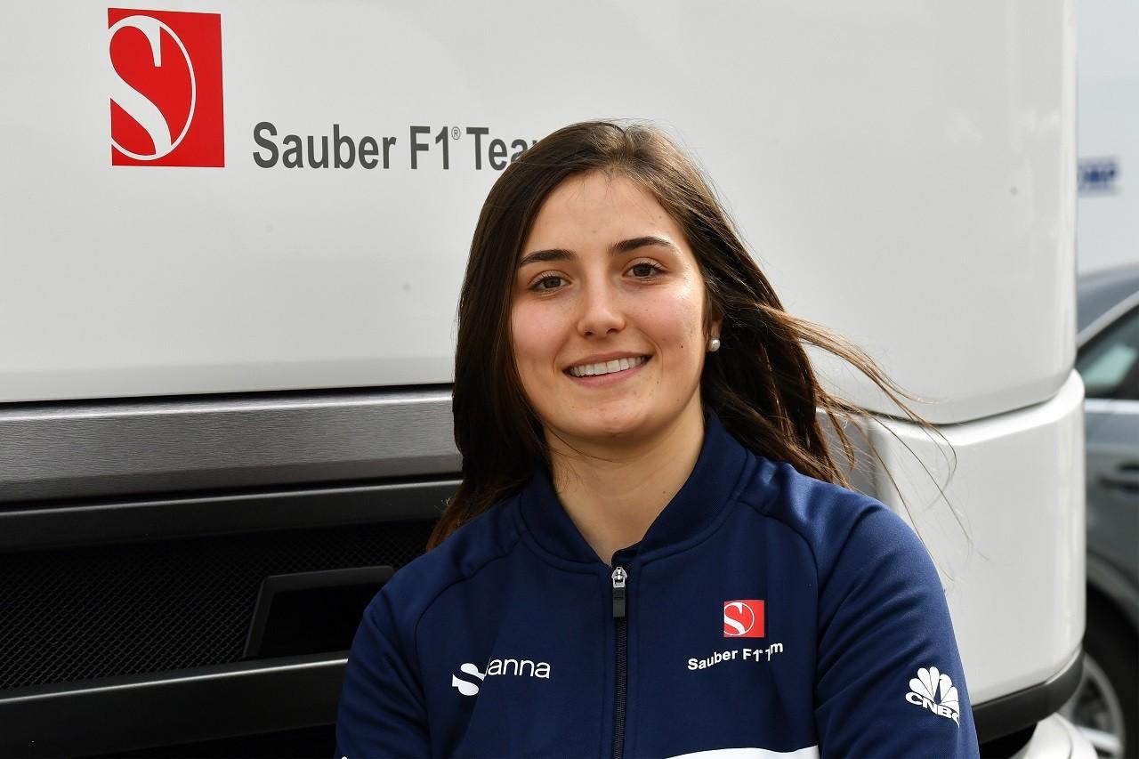 ザウバーF1、タチアナ・カルデロンと開発ドライバー契約