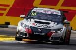 TCRインターナショナルシリーズを戦うジャンニ・モルビデリのホンダ・シビックTCR。日本でもシビックの走りが見られることになりそう。