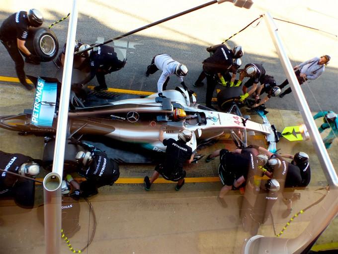 F1 | F1 Topic:3日で490周を走破、王者メルセデスがもつ圧倒的なアドバンテージ