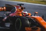2017年第1回F1合同テスト4日目 ストフェル・バンドーン(マクラーレン・ホンダ)