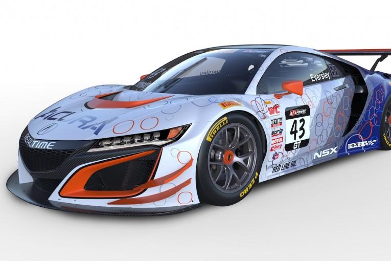 ル・マン/WEC | 北米ホンダ、ピレリ・ワールドチャレンジ参戦『NSX GT3』のカラーを公開