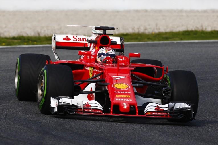 2017年第1回F1合同テスト4日目 キミ・ライコネン(フェラーリ)