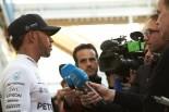 2017年第1回F1合同テスト ルイス・ハミルトン(メルセデス)