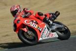 "MotoGP | ""時空を超えた""競演。鈴鹿サーキットを8耐レジェンドマシンと現役マシンが走行"