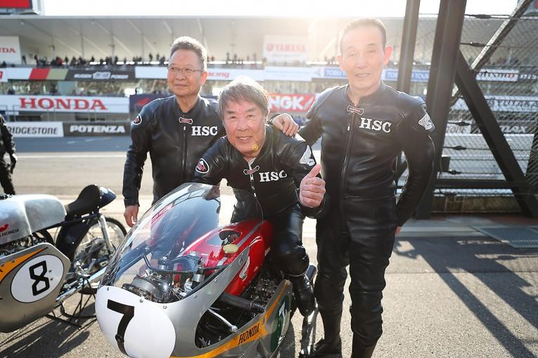 MotoGP | 星野一義の夢、かなう。ホンダRC166で鈴鹿をデモラン「本当にすごかった!」
