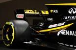 ルノーF1新車発表会でのR.S.17のリヤウイング
