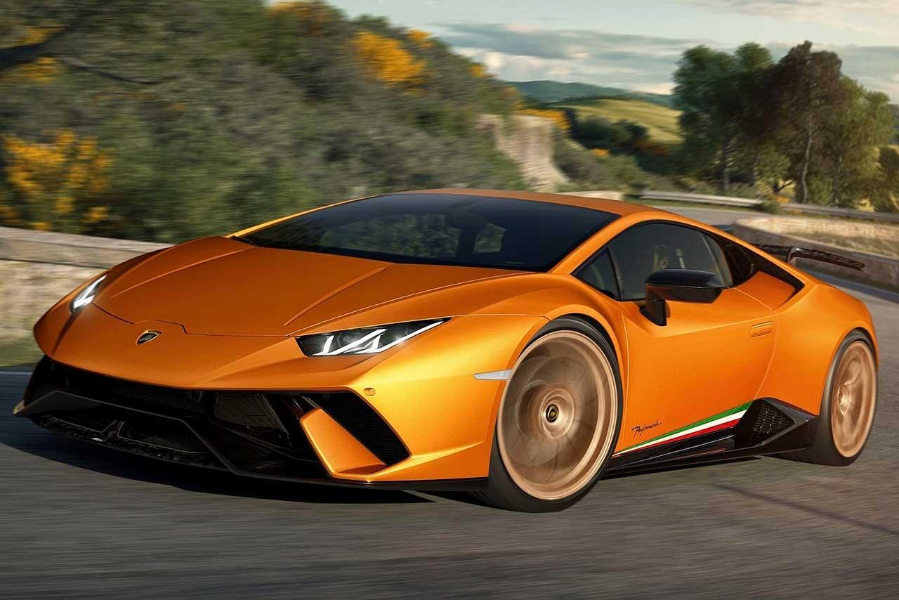 ランボルギーニ、『ウラカン・ペルフォルマンテ』をジュネーブで公開。同社の「V10量産車最高峰」