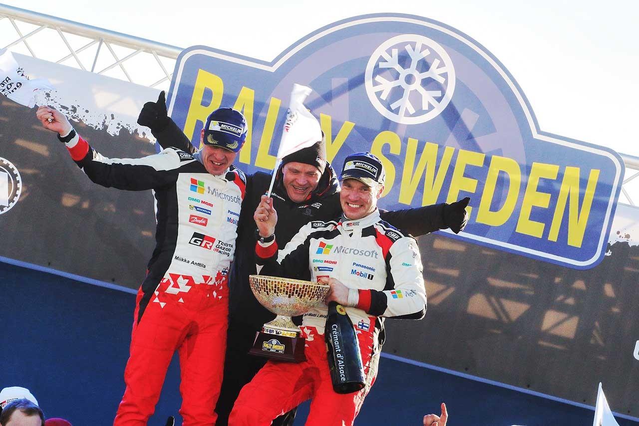 トヨタ、WRC復帰2戦目での勝利を支えた『4つ』の要素