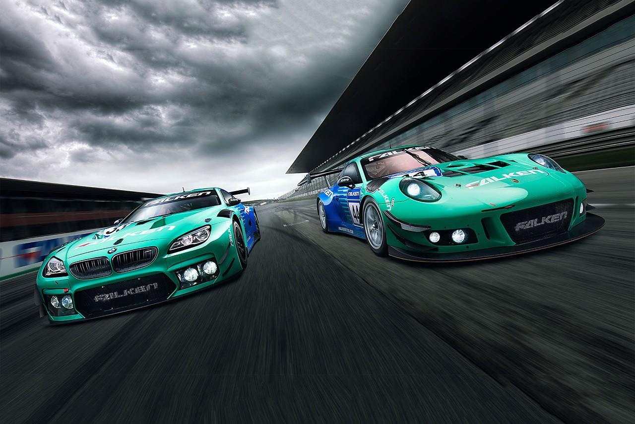 ファルケン、今年もニュルブルクリンク24時間に挑戦。強豪3台にタイヤを供給